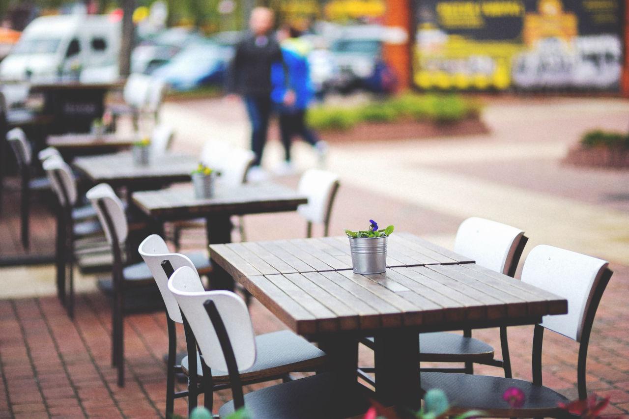 mobilier restaurant terrasse