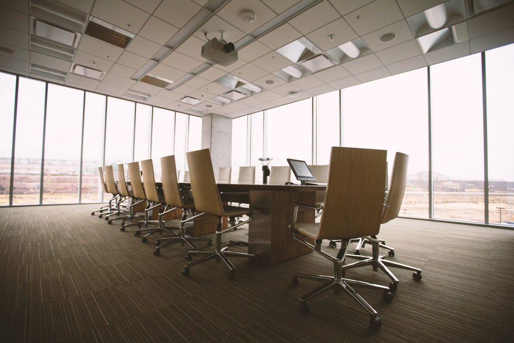 bureau d'entreprise - salle de réunion